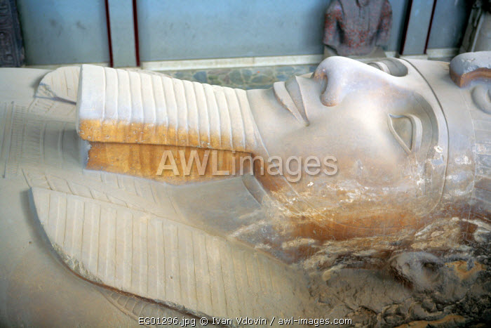awl-images.com - Egypt / Colossus of Ramses II (13th century BC), Memphis, Egypt