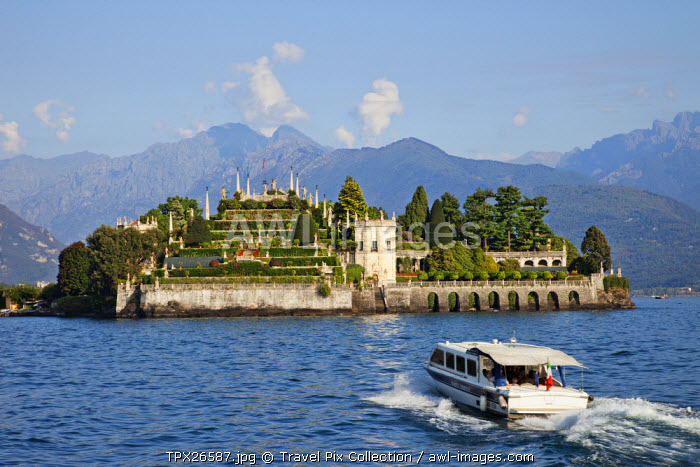 awl-images.com - Italy / Italy, Piedmont, Lake Maggiore, Stresa, Isola Bella