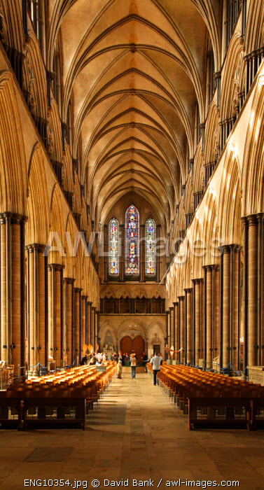 Salisbury Cathedral is an Anglican cathedral in Salisbury, England