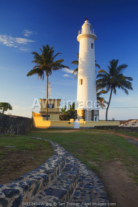 Lighthouse in the Fort, Galle, Southern Province, Sri Lanka