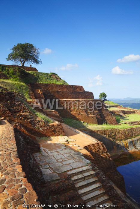 Summit of Sigiriya (UNESCO World Heritage Site), North Central Province, Sri Lanka