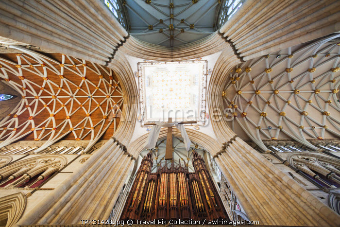England, Yorkshire, York, York Minster, The Central Tower