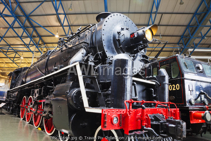 England, Yorkshire, York, The National Railway Museum, 1935 Steam Locomotive Engine designed by Kenneth Cantlie for Use in China