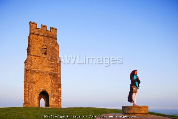 England, Somerset, Glastonbury, Glastonbury Tor