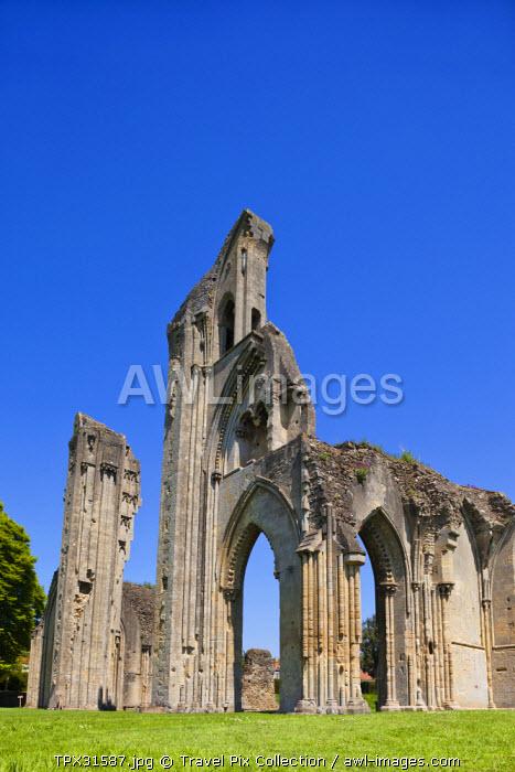 England, Somerset, Glastonbury, Glastonbury Abbey, The High Altar