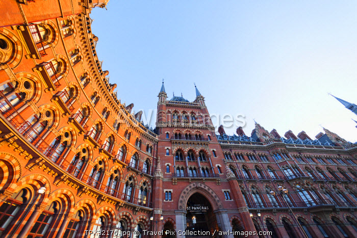 England, London, Kings Cross, St Pancras Renaissance Hotel