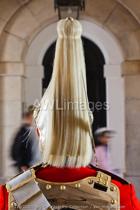 England, London, Whitehall, Household Cavalry Museum, Horse Guard