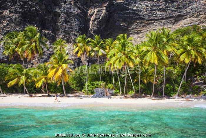 Dominican Republic, Samana Peninsula, Las Galleras, Playa Fronton