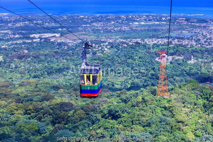 Dominican Republic, Puerto Plata, Mount Isabel de Torres, Cable car