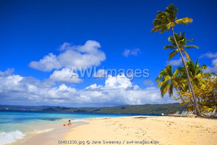 Dominican Republic, Eastern Peninsula De Samana, Samana, Cayo Levantado know as  Bacardi Island