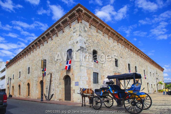 Dominican Republic, Santa Domingo, Colonial zone, Museo de Las Reales