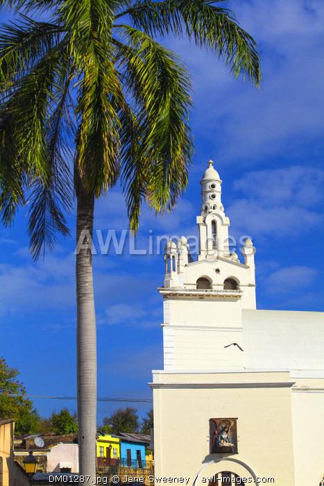 Dominican Republic, Santa Domingo, Colonial zone, Church of La Altagracia.