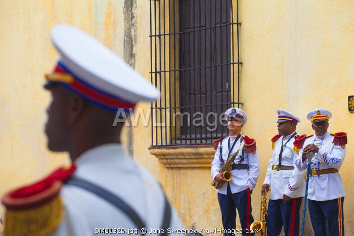 Dominican Republic, Santa Domingo, Colonial zone, Independance Day, Presidential guards,