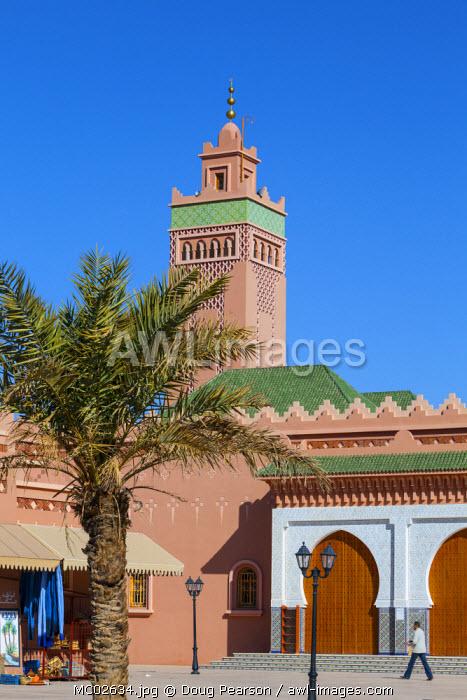 Mosque & Minaret, Zagora, Morocco