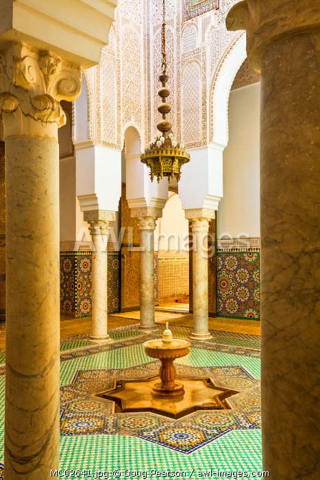 Moulay Ismal Mousoleum, Medina, Meknes, Morocco