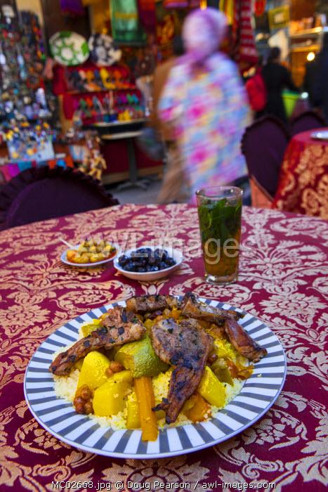 Lamb Cous Cous, The Medina, Fes, Morocco