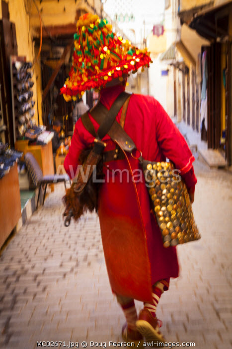 Water Seller, Fes el Bali Medina, Fes, Morocco