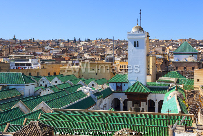 The Karaouiyine Mosque, The Medina, Fes, Morocco
