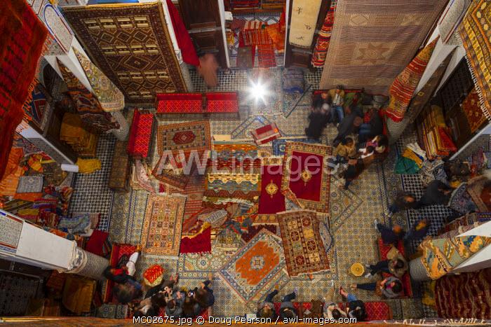 Carpet Shop, The Medina, Fes, Morocco