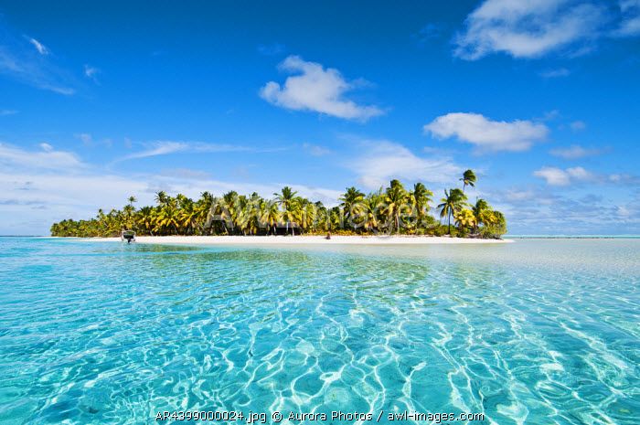 Tapuaetai Island, Aitutaki Island, Cook Islands: One Foot Island