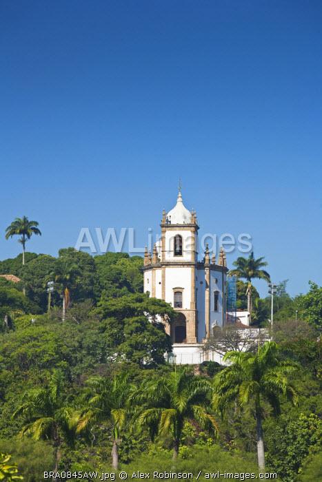 South America, Brazil, Rio de Janeiro state, Rio de Janeiro city, Gloria, Nossa Senhora da Gloria do Outeiro church