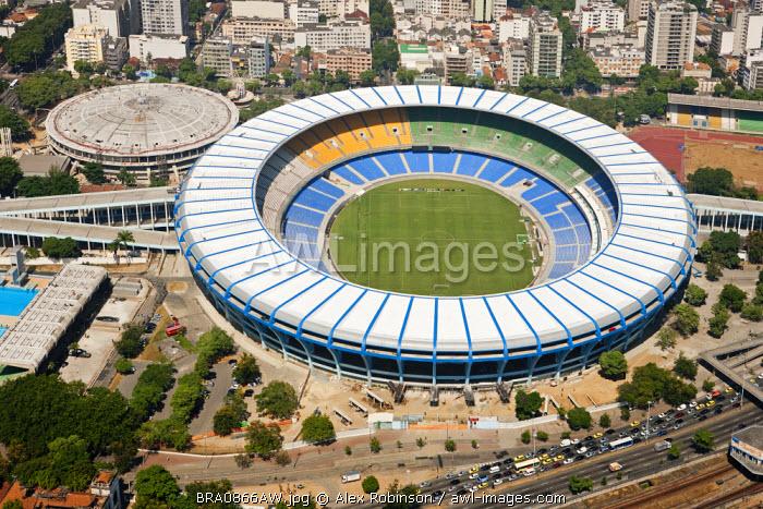South America, Brazil, Rio de Janeiro state, Rio de Janeiro city, Maracana and Maracanazinho stadia