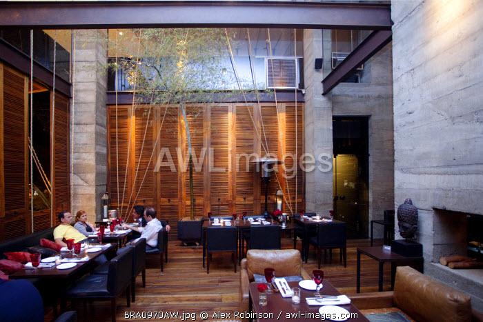 Brazil, Brasilia, Zuu a.Z. d.Z. restaurant Restaurant run by Mara Alcamim; PR