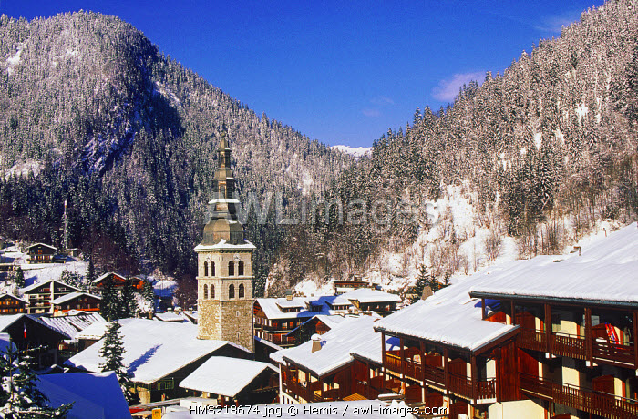 France, Haute Savoie, Aravis Massif, La Clusaz