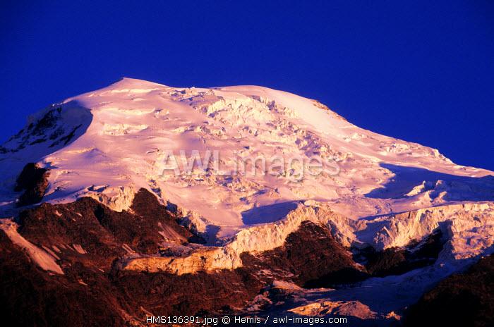 France, Haute Savoie, Mont Blanc country, Dome du Gouter (alt:14120 ft)