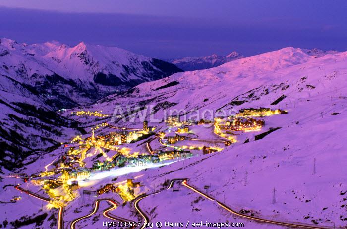 France, Savoie, Les Menuires ski resort