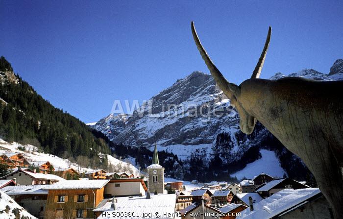 France, Savoie, Pralognan La Vanoise village