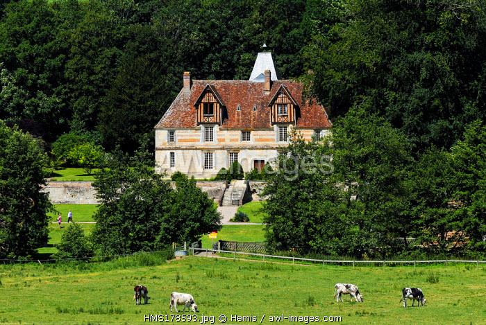 France, Calvados, Saint Martin de la Lieue, Domaine Saint Hippolyte