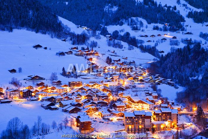 France, Savoie, Areches