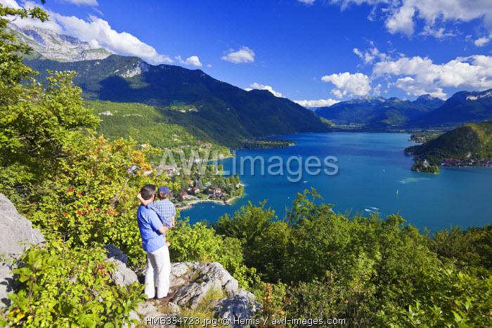 France, Haute Savoie, Talloires, Annecy lake