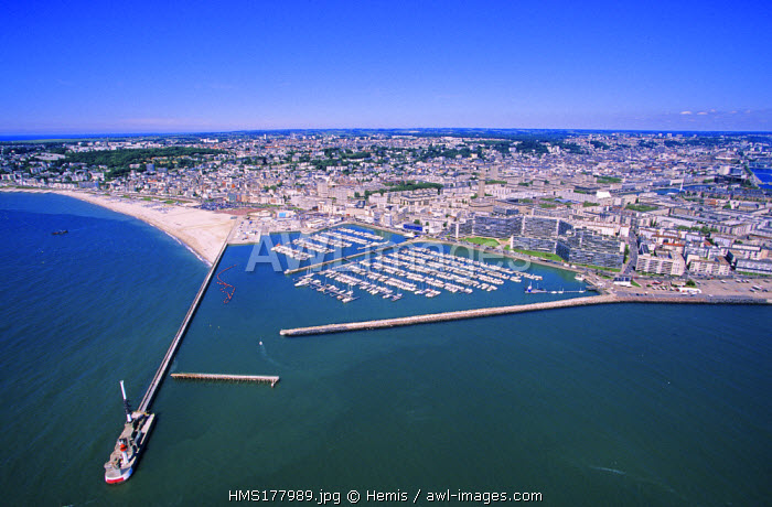 France, Seine Maritime, Le Havre (aerial view)