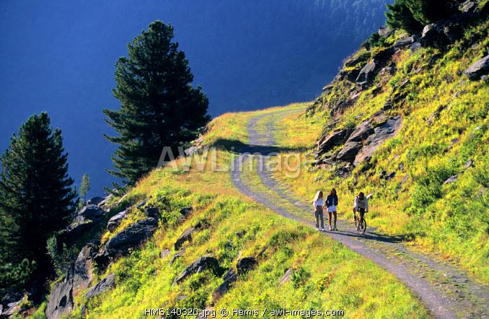 France, Savoie, Meribel, Tueda park