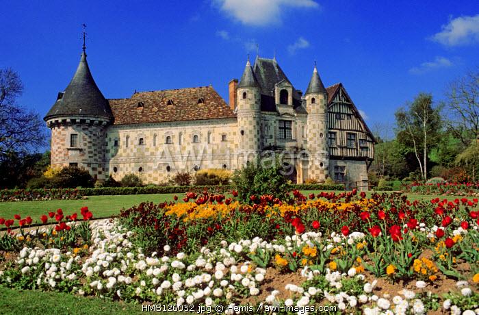 France, Calvados, Saint Germain de Livet castle