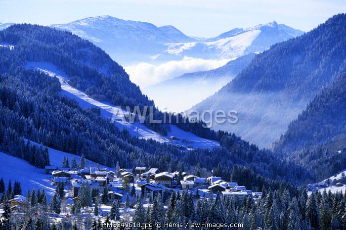 France, Haute Savoie, Les Gets