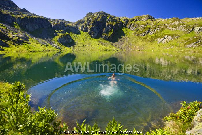 France, Haute Savoie, Chamonix Mont Blanc, Massif des Aiguilles Rouges, Reserve Naturelle Nationale des Aiguilles Rouges (Aiguilles Rouges National Nature Reserve)