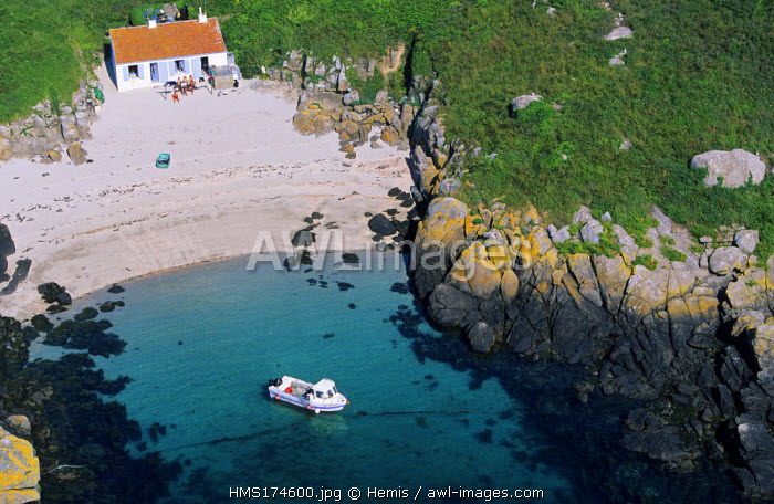France, Manche, Iles Chausey