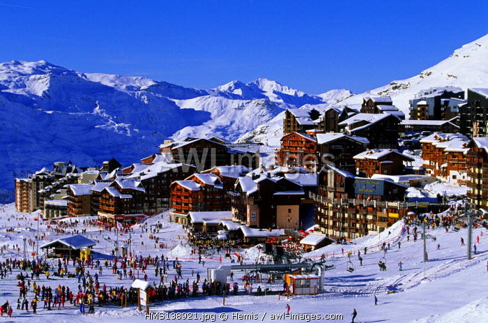 France, Savoie, Val Thorens, Trois Vallees Ski Resort