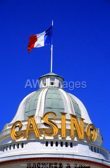 France, Orne, Bagnoles de l'Orne, casino