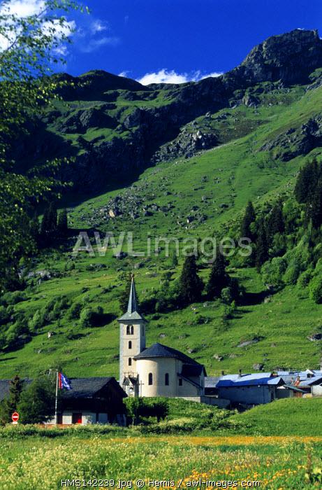 France, Savoie, Champagny en Vanoise, La Chiserette
