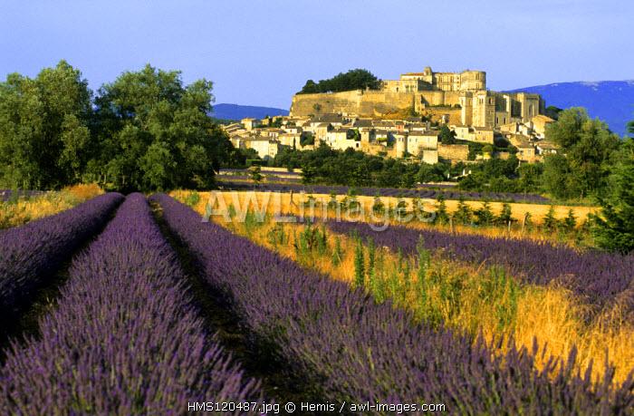 France, Drome, Drome Provencale, Grignan, Castle where Madame de Sevigne lived