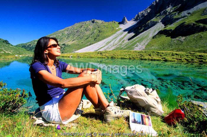 France, Savoie, La Vanoise Park, Lac des Fees