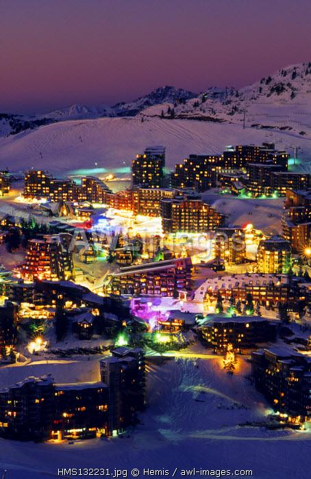 France, Haute Savoie, Avoriaz