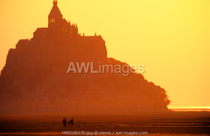 France, Manche, Mont Saint Michel