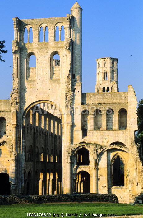 France, Seine Maritime, Jumieges Abbey