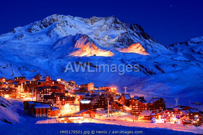 France, Savoie, Val Thorens, Aiguille de Peclet (11 686,35 ft)
