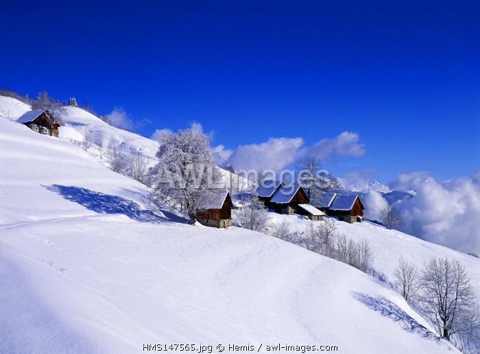 France, Savoie, Valmorel, Montolivet